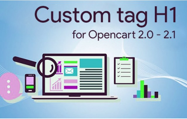 Custom H1 for Opencart 2.x